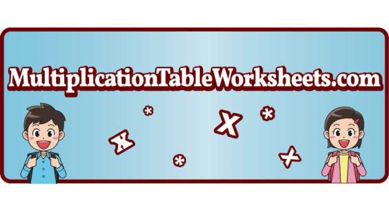 Multiplication Table Worksheets